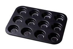 Форма антипригарная для випічки 12 штук кексів (350 * 260 * 30 мм)