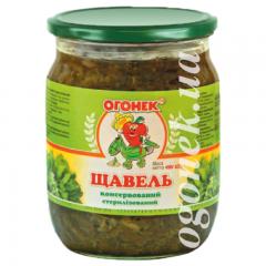 """Щавель консервований """"Огонек"""", 490 г"""