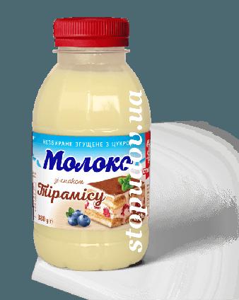 """Згущене молоко 8,5% зі смаком тірамісу """"Сто Пудів"""", 380 г"""