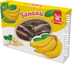 Банани сушені (преміум), 150г