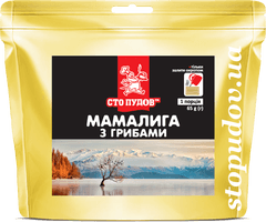 Мамалига з грибами (zip пакет), 65г